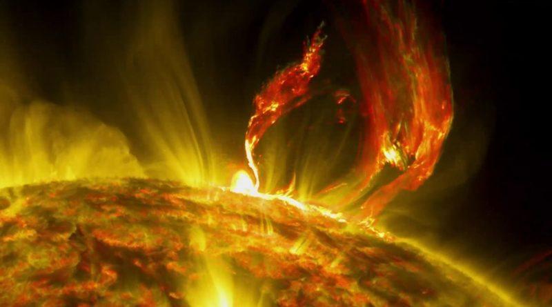Así se puede determinar la potencia de las erupciones solares