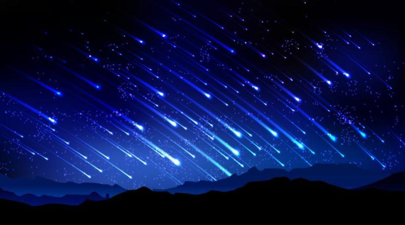 Lluvia de meteoritos!